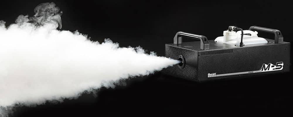 fumo fatto dalla macchina del fumo