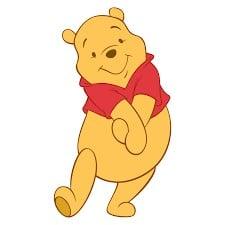 Sagoma Winnie the Pooh