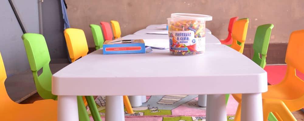 tavolini e sedioline per festa smart