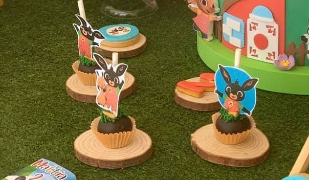 Cake Pops festa a tema Bing