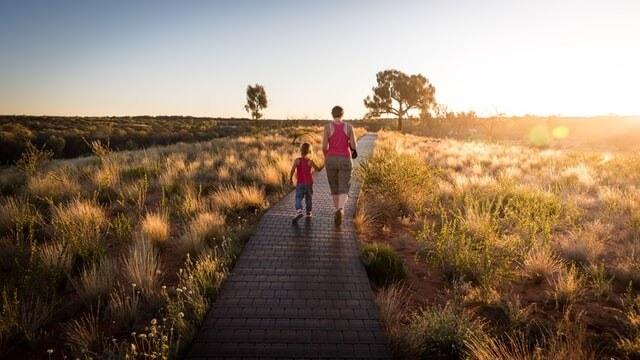 Visitare parchi con i bambini in estate