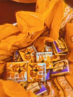 Festa a tema cowboy: i cioccolatini personalizzati come gadget di fine festa