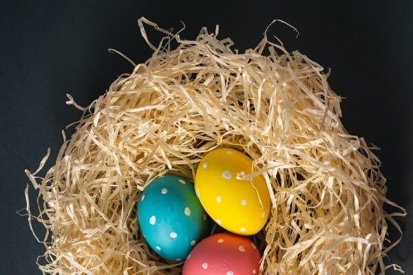 Uova: caccia al tesoro di Pasqua