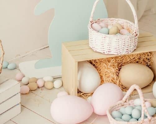 caccia alle Uova di Pasqua in casa