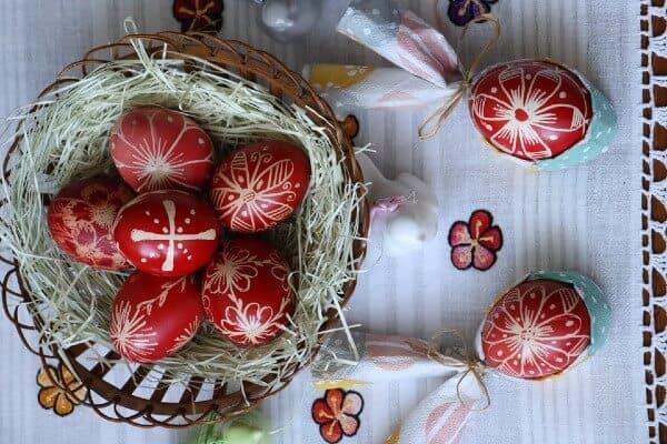 Uova di Pasqua da decorare